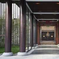 中式三居室富裕型窗帘装修效果图