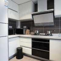 歐式廚房效果圖 整體櫥柜
