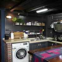 金属简约厨房现代三居装修效果图