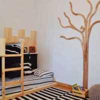 西式古典三居室卧室橱柜效果图