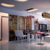 台面餐厅墙壁新房装修效果图