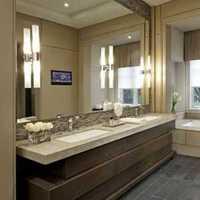 卫生间欧式浴缸欧式家具装修效果图