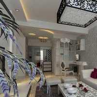 二居现代简约沙发背景墙装修效果图