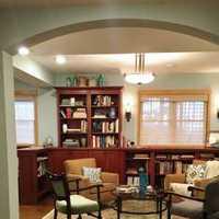 地毯客厅客厅实木茶几装修效果图