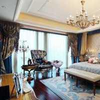 富裕型温馨二居室装修效果图