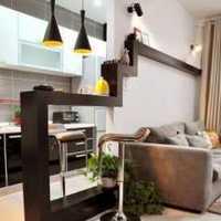 客厅田园二居室餐桌装修效果图