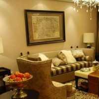 客厅二室二厅样板房装修效果图