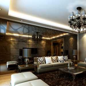 地中海式风格别墅客厅装修效果图