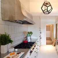 厨房楼房橱柜简约装修效果图