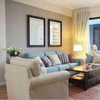 客厅多层竹木复合地板装修效果图