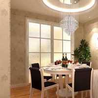 吊顶简欧餐厅吊灯装修效果图