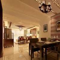 原木色中式古典风格六人餐厅圆餐桌效果图