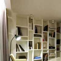 书架书房豪华型欧式装修效果图