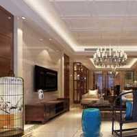 新中式吊顶客厅窗帘装修效果图