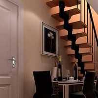 客厅餐厅长条形状装修效果图
