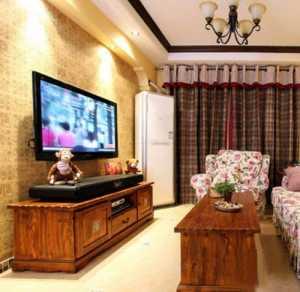 95平2室1厅装修效果图