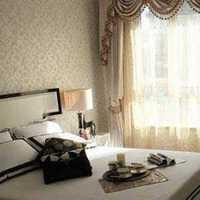 头灯卧室卧室家具飘窗窗帘装修效果图