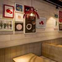 现代东南亚混搭室内装饰画效果图