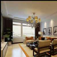 客厅吊顶双层石膏线装修效果图