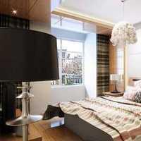 简约中式三居卧室背景墙装修效果图