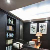 书房三居室书柜现代简约装修效果图