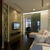 客廳家具抱枕客廳布藝沙發裝修效果圖