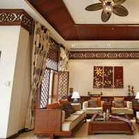 现代抽象印象派别墅起居室装修效果图