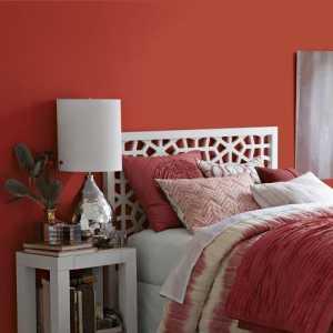 新古典 红色系 卧室