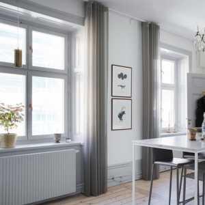 客厅装修白灰