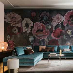 艺术混搭公寓多彩客厅