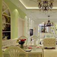 现代简约客厅茶几吸顶灯装修效果图