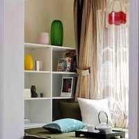 家居裝修臥室玻璃隔斷效果圖