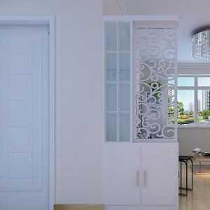 56平小两房一厅装修