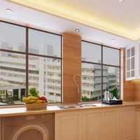 厨房墙砖彩砖美凤装修效果图