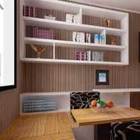 书房家具书桌壁纸北欧装修效果图