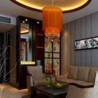 别墅楼梯时尚客厅装修效果图