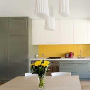 20個亮麗的黃色系廚房設計
