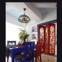 交换空间美式餐厅家具餐厅装修效果图