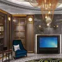 美式风格别墅140平米以上客厅飘窗沙发效果图