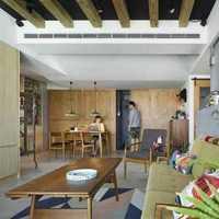 样板房客厅现代简约地柜装修效果图