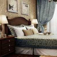 二居地中海卧室头背景墙装修效果图