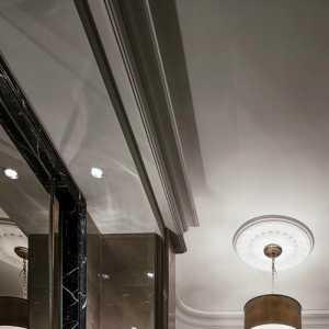 58平方两室一厅吊顶装修效果图