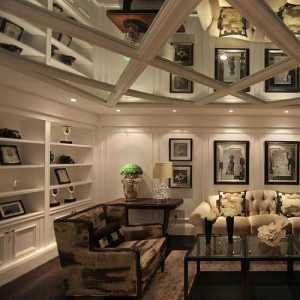 美式客厅装修装饰