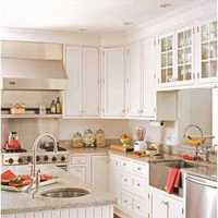 现代三居厨房乡村装修效果图