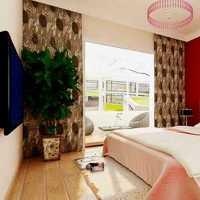 美式鄉村風格別墅富裕型120平米臥室床效果圖