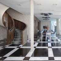 宜家简约小户客厅餐厅走廊装修效果图