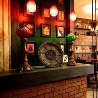 小户型现代餐厅吊顶储物柜装修效果图
