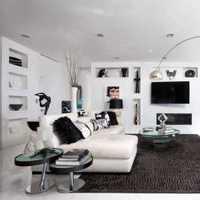 茶几富裕型小户型客厅装修效果图