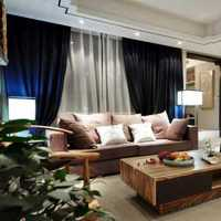 现代舒畅怡情别墅起居室装修效果图