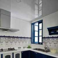 豪華高雅三居三居廚房黃色裝修效果圖